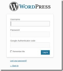 Setting Up Google Authenticator for WordPress Blogs